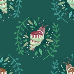 Snail Botanical