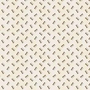 small shirting triple diamond over line ecru 2049-29