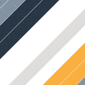 M+M Retro Modern Diagonal Stripe EPS by Friztin