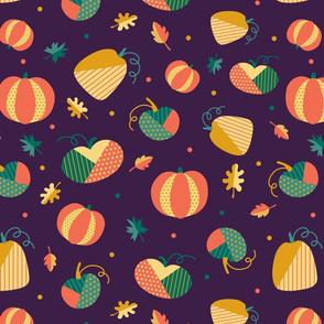 Patchwork Pumpkins 2