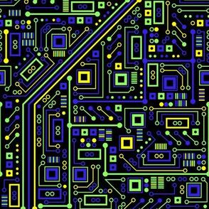 Short Circuits (Green Blue Yellow)