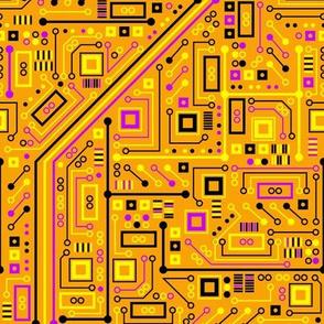 Short Circuits (Orange Yellow Pink)