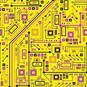 Short Circuits (Yellow Orange Pink)
