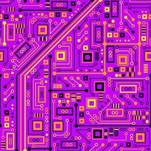 Short Circuits (Purple Yellow Orange)