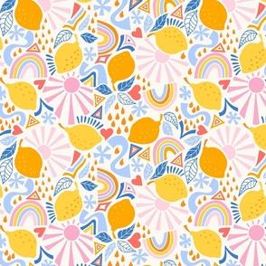 fun lemons/yellow/medium