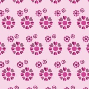 forget me not - pink KREISE