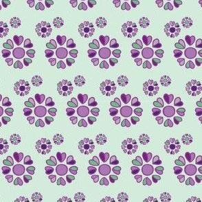 forget me not - purple KREISE