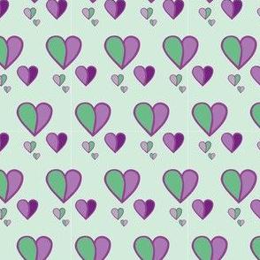 forget me not - purple HERZEN