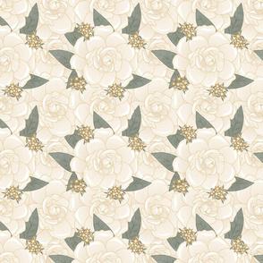 Bella Nora gardenia pattern