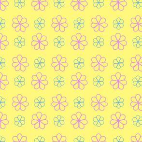 Yellow-Embroideryflowers