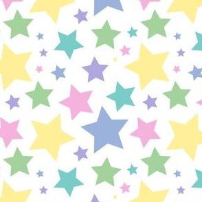 Pastel stars (small)