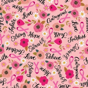 Breast Cancer Words of Encouragement