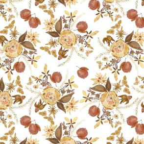 fall apple floral bundle on milk