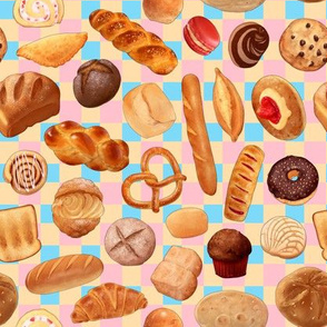 Breads and Pastries- pastel