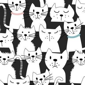 International Cats Day-Black
