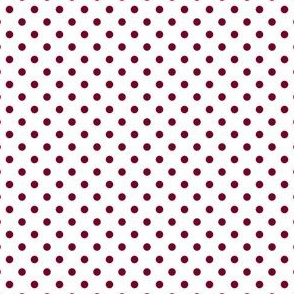 Polka Dots (White, Pink-Red 780026)