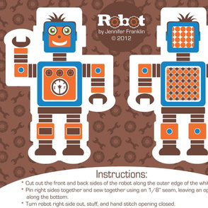 Boy Robot Doll Kit