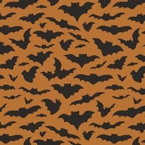 Bats - orange