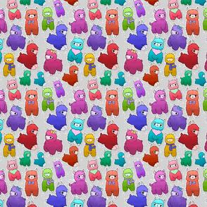Rainbow Kawaii Alpacas