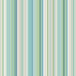 thin beachy stripes blue green tan