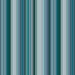 thin stripes blue green teal gray