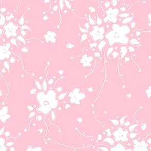 Garden Sprays PINK WHITE ©Julee Wood