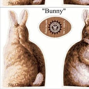 "7"" Custom Brown Bunny"