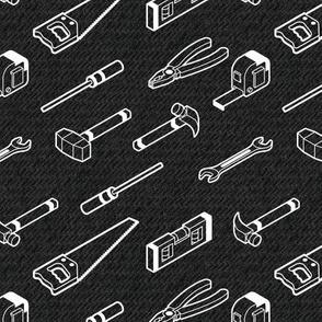 Tool Time!  | Denim Black