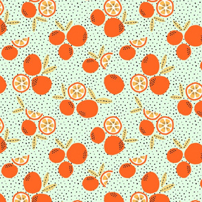Oranges (green)