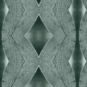Leaf Macro in Light Gray