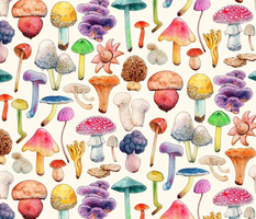 Mushroom Aquarela