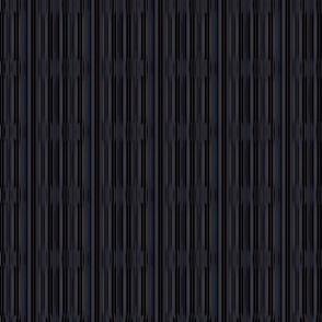 Raisin Black on Black Onyx Patterned Vertical Stripes