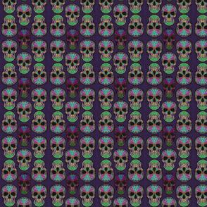 Scary skulls small