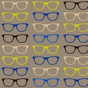 Geekoptical - Brown Lime Blue