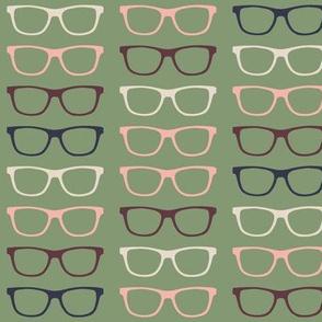 Geekoptical - Green Brown Pink Navy