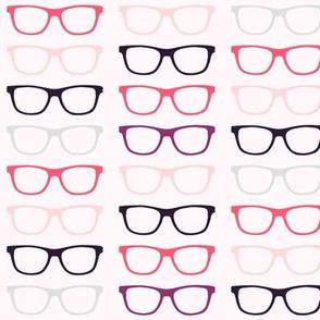 Geekoptical - Pink Coral Grey Purple