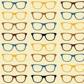 Geekoptical - Yellow Brown Teal