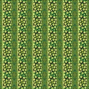 Soft and Green: Mini Prints - Stripes and Dots