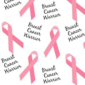 Breast Cancer Warrior Ribbons