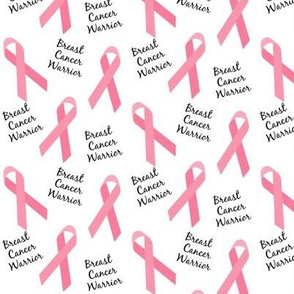 Small Scale Breast Cancer Warrior Ribbons