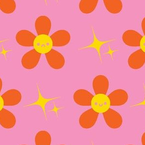groovy floral