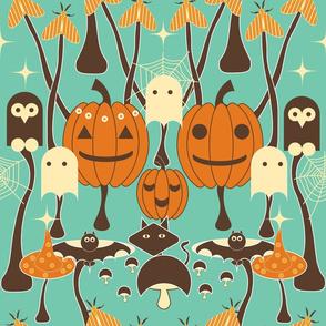 Halloween Mushroom Patch
