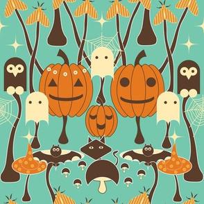 Halloween Mushroom Patch Medium