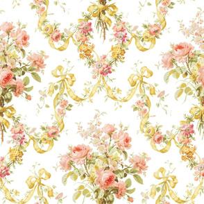 Queen Alexandra Floral Damask ~ Original