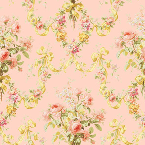 Queen Alexandra Floral Damask ~ Original on Lauffer