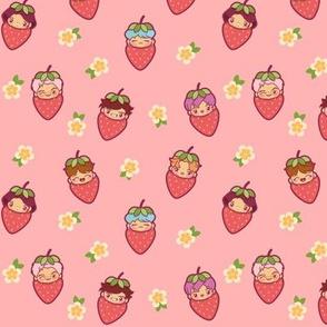 BTS Strawberry Patch (Pink)