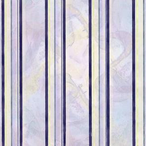 Egglant ^ Pale Yellow ^ Pink ^ Violet Spring Stripes