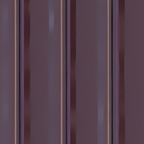 """Eggplant, Grape, Gray, Deep Taupe, Brown Coffee, and Purple Shimmer Vertical Stripes 21.34"""""""