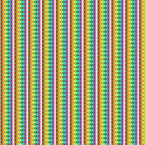 Petite chakra colour gradient dots