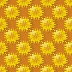 CFW9 - Medium - Cogs from the Wheel Polka Dots